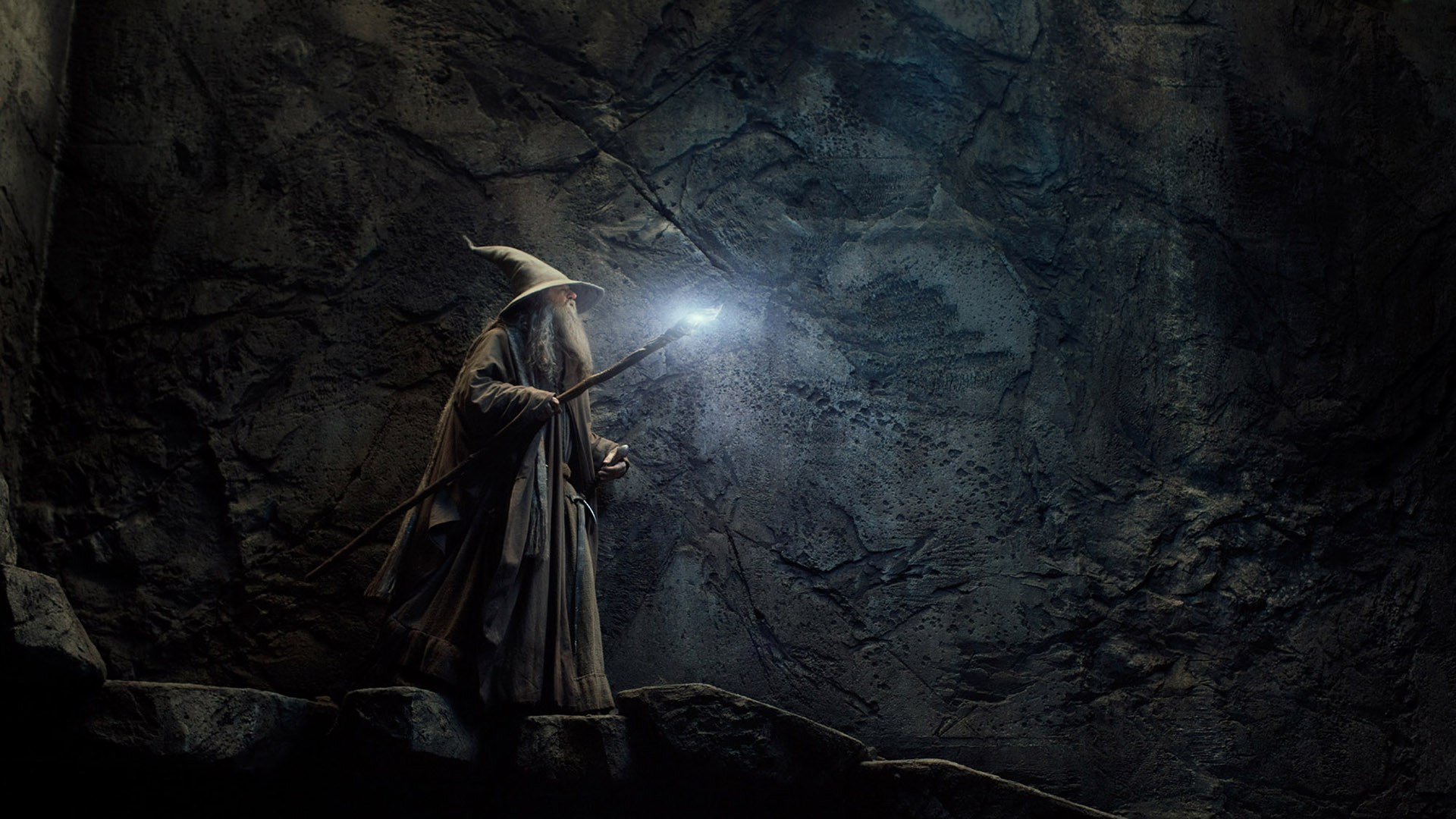 pustkowie smauga - gandalf