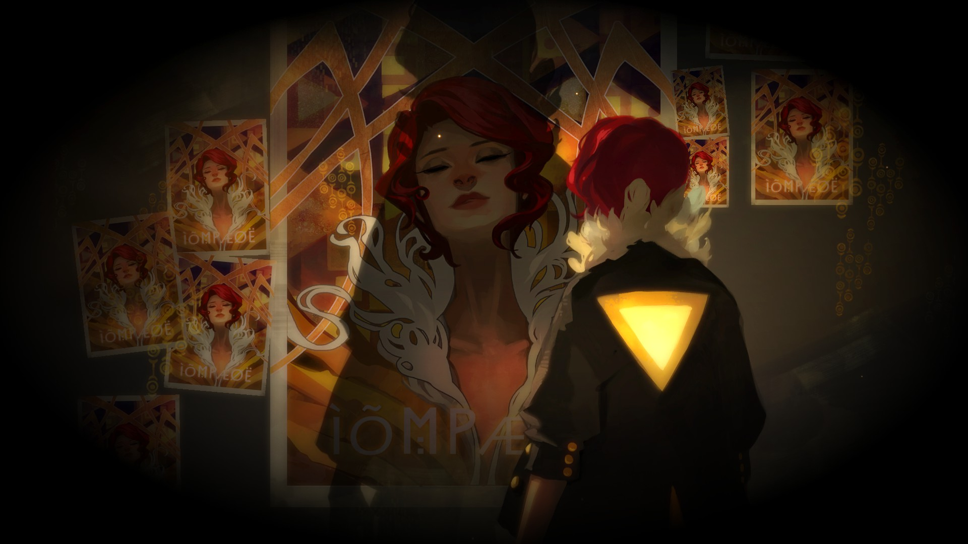 transistor-red-poster